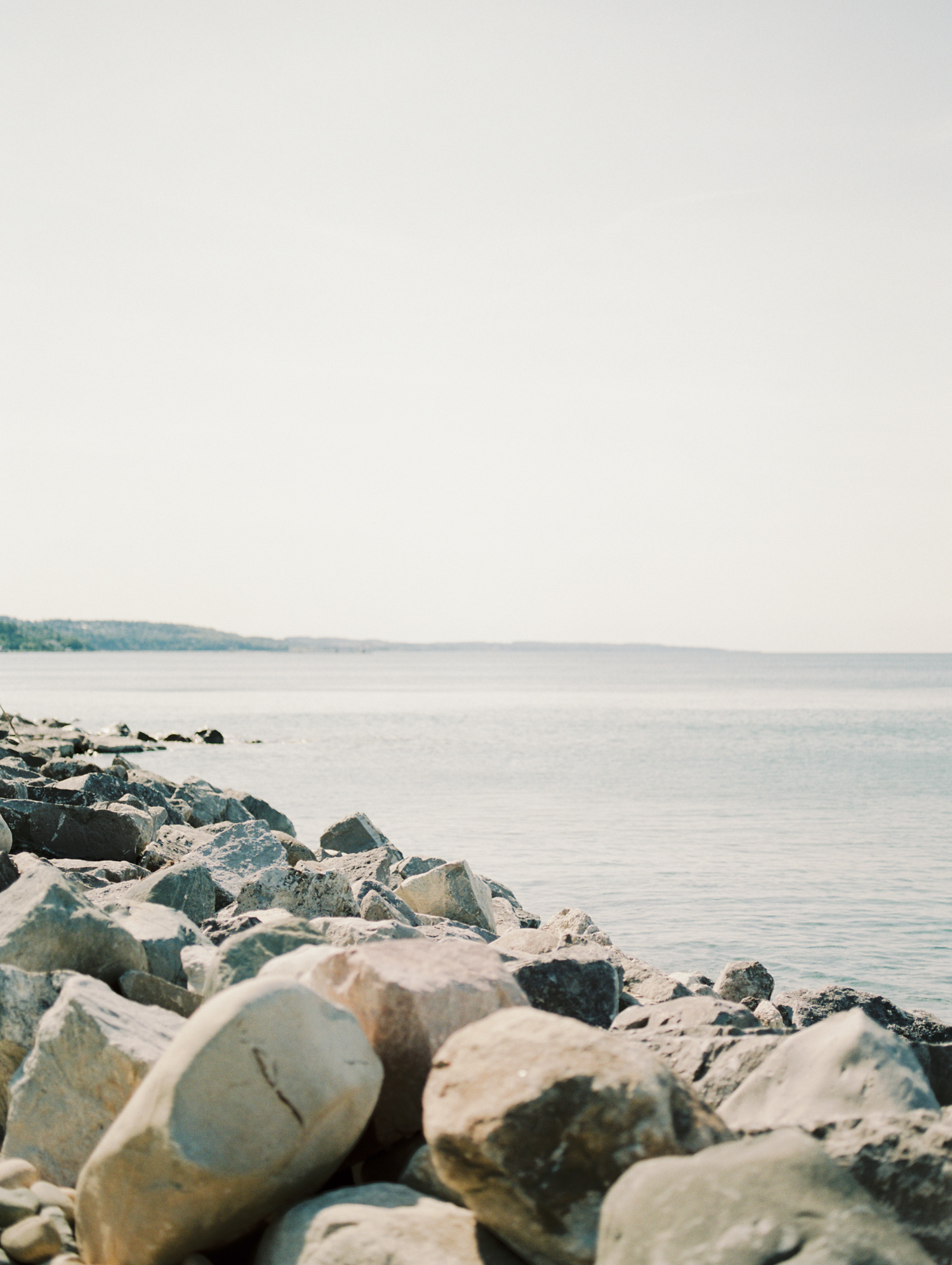 Lake Michigan captured on film as seen from a Petoskey, Michigan home